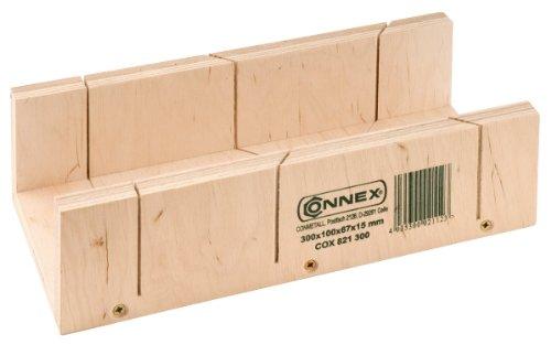 Connex COX821300 Schneidlade, Mehrschicht-Holz, 15 mm stark, Höhe 67 mm, 300 x 100 mm