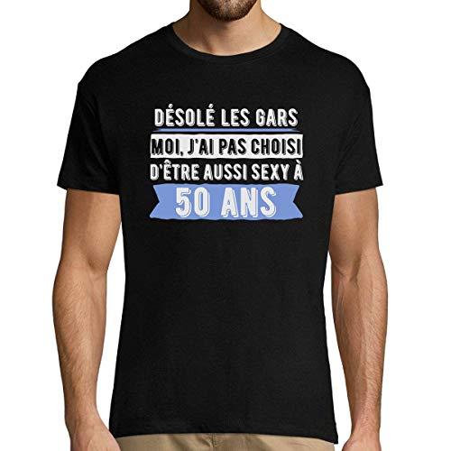 50 Ans Anniversaire | Tshirt Homme Désolé Les Gars Moi JAi P