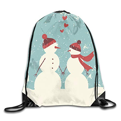 Christmas Duvet Cover Set Queen Size, Snow Covered Mountain With Fir Trees And Skiing Snowman Fun Holiday Activity,Teal Red White_2Travel Daypack