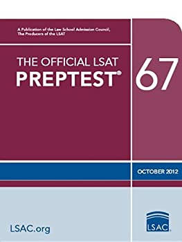 The Official LSAT PrepTest 67   Oct 2012 LSAT