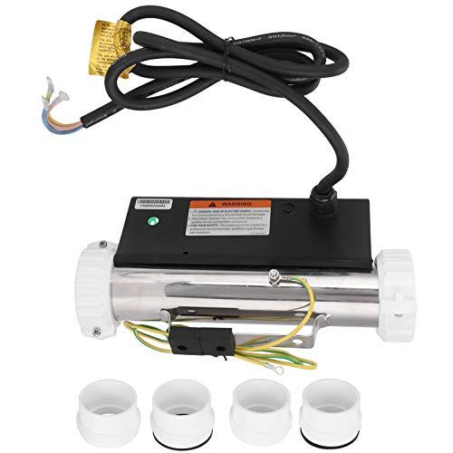 GAESHOW Calentador de bañera, Calentador de bañera de Masaje de 2KW, Calentador de termostato de SPA, Equipo de calefacción circulante para bañera