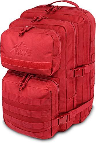 normani US Assault Cooper Pack Large Rucksack im Military Style Farbe Signalrot Größe 50 Liter