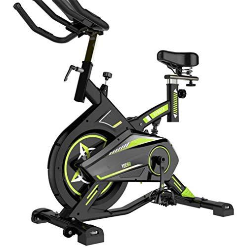 Lcyy-Bike Allenatori di Bicicletta Resistenza Magnetica 8 kg Volano Cardio Workout con Display Multifunzionale E Ammortizzatore A Molla Manubrio Regolabile E Altezza del Sedile