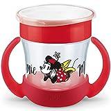 NUK Mini Magic Cup Bicchiere Salvagoccia | Bordo 360° Anti-Rovesciamento | 6+ Mesi | Impugnatura Facile | Privo Di Bpa | 160 Ml | Disney Baby | Topolina Minnie Mouse Color Minnie Mouse (Topolina)