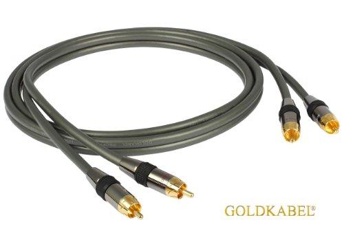 Goldkabel Profi Cinchkabel Stereo 1,50m
