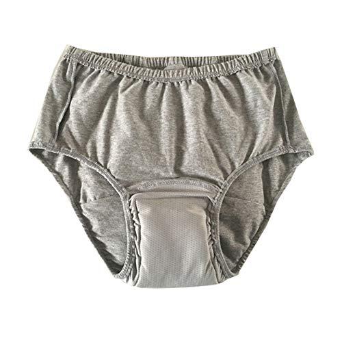GzxLaY Pañales para Adultos de orina a Prueba de Fugas ultraligeros, Braga Lavable para incontinencia urinaria con área Absorbente - Pantalones para incontinencia para Hombres y Mujeres,M