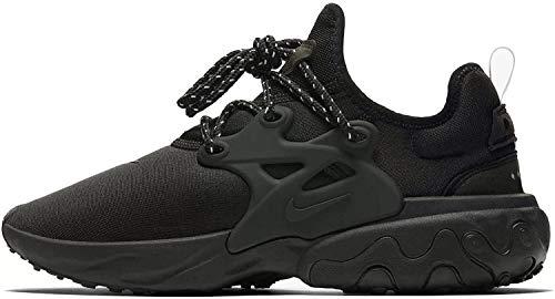 Nike Mens React Presto Black/Black-Electric Green Av2605 004 - Size 10