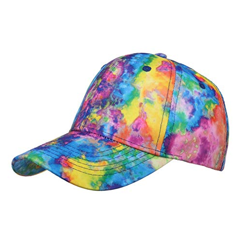 LUOXUEFEI Gorras Beisbol Mujeres Hombres Playa Transpirable Gorra De Béisbol Ajustable Sombrero De Hip Hop Sombrero para El Sol Gorras