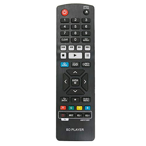Replacement Remote Control Controller for LG UBK90 4K Ultra-HD Blu-ray Player