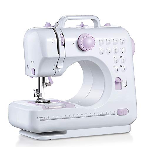 Why Should You Buy YGSYSC Mini Sewing Machine Double Speed Portable Electric, 12 Stitches Heavy Duty...