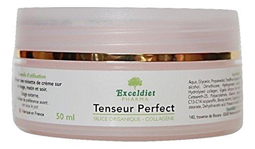 Soin du corps | Crème Anti rides | Tenseur Perfect 50 ml | Collagène Marin | Silicium Organique