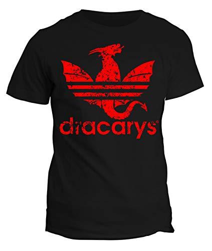 Tshirt Game of Thrones - Il Trono di Spade - Dracarys - Parody - Serie TV