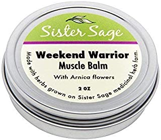 Sponsored Ad - Weekend Warrior, 100% All Natural Sore Muscle Balm with Arnica, Unscented (2 oz)