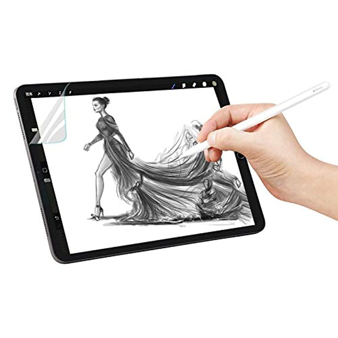 [2 Pack] ipad pro 10.5 Screen Protector, Paper-Like Screen Protector Compatible with Apple iPad Pro 10.5 and iPad Air 3 (2019) 10.5 inch/Apple Pencil Compatible/Premium PET Film (Not Glass)
