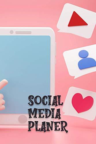 Notizbuch: Social Media Planer   Tablet Likes   Plane deinen Posts, Inhalte & Auftritte   Zielgruppenanalyse   Budgetplaner   Aufgabentracker   ... Instagram   Pinterest   Twitter   Influencer