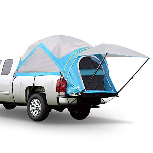 Quictent Waterproof Truck Tents with Removable Awning, Rainfly & Storage Bag Included, 2 Years