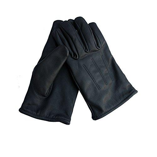 FitWorld24 Kevlar Handschuhe Leder schnitthemmend schnittfest Aramid Polizei Security XXL