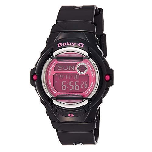 Casio BG-169R-1BDR - Reloj (Reloj de pulsera, Niño, Resina, Acero inoxidable, Negro, Acero inoxidable, Resina, Negro)