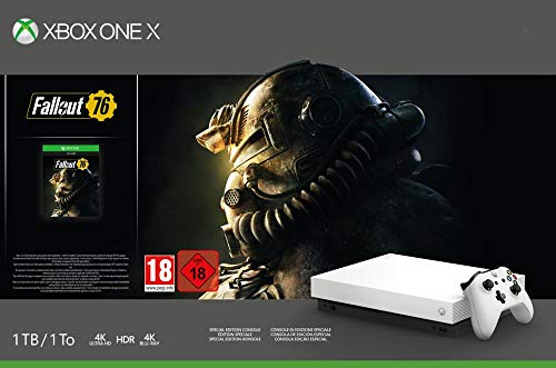 Xbox One X 1 To - Fallout 76 Edition Limitée Robot White