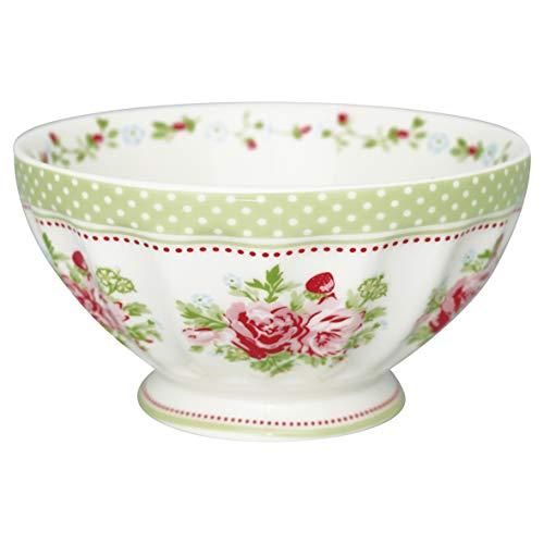 GreenGate - Schüssel - Schale - Bowl - Mary White - Porzellan - 400 ml