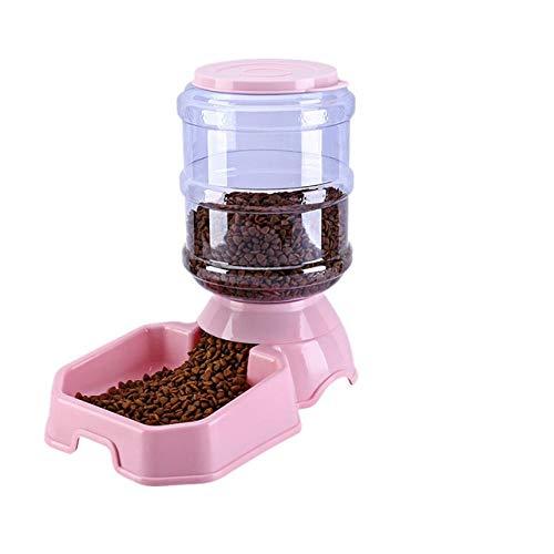 Protección del Medio Ambiente Plástico Mascota Gato Perro Tazón Agua de alimentación automática Contenedor de Comida para Perros Dispensador de Agua Alimentadores