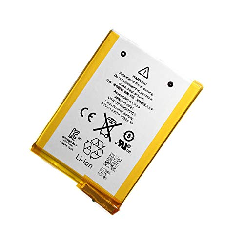 Products 616-0619, 616-0621 Battery Replacement Compatible with iPod Touch 5 (5th Generation) A1421, A1509, 16GB, 32GB, 64GB