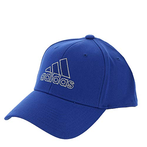 adidas Producer Stretch Fit Structured Cap,Team Royal Blue/ Glory Grey,L/XL
