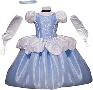 لباس شاهزاده خانم تظاهر به اسباب بازی - بازی نقش پیش دبستانی - لباس هالووین برای کودکان