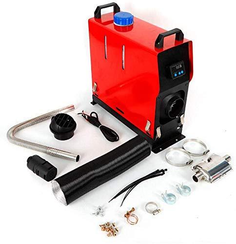 Kaibrite Calefacción de aire diésel para coche, 5 kW, 12 V, con pantalla LCD, para automóviles y camiones