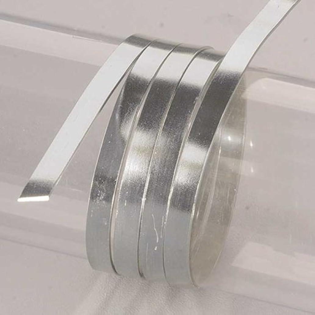 Efco 1 x 5mm x 2m Aluminium Anodised Flat Wire, Silver