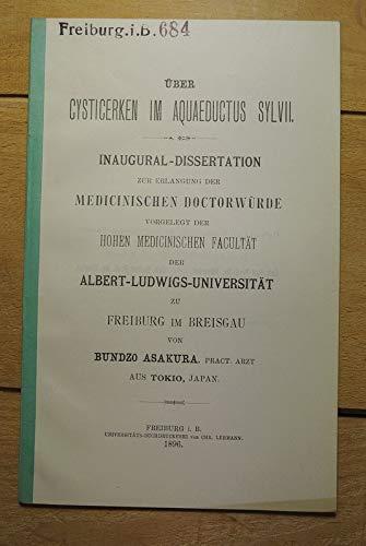 Über Cysticerken im Aquaeductus sylvii.