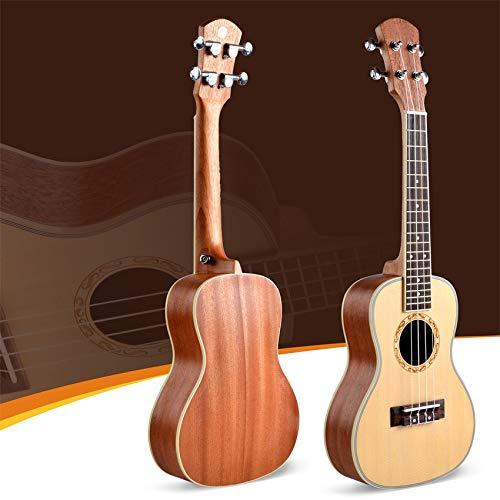 SUNXK UK-70 Ukelele pequeña de Cuatro Cuerdas de la Guitarra Ukelele rasgueo (Color : UK-26-70S, Size : 24 Inch)