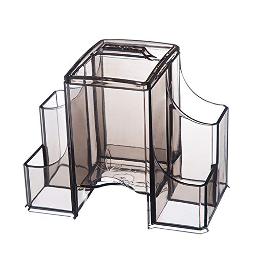 GFFTYX Caja De Maquillaje Organizador Minimalista Moderno Que Ahorra Espacio En Capas Tocador Mesa Paleta Pincel Base Lápiz Labial Joyería