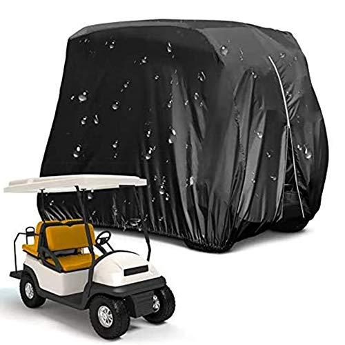 NXX Cubierta para Carrito De Golf para 4 Pasajeros 210 D Impermeable...