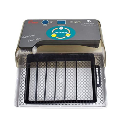 Professionelle LED Eier Inkubator Vollautomatisch Brutmaschine Landwirtschaft Hatcher Maschine 220 V,Universal Feuchtigkeitsfest Energiesparend Kühltechnologie für Hühnergans Ente Taube Wachtel Vogel
