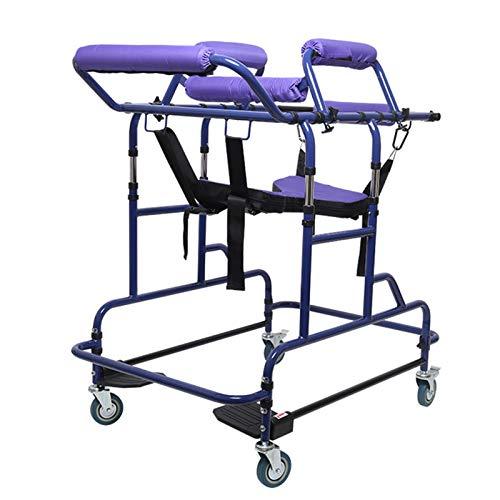 WANGXNCase Deambulatore per Anziani deambulatori a 4 Ruote con Sedile, ausilio per la deambulazione riabilitativa per Anziani Passeggiata ausiliaria per Riabilitazione per disabili