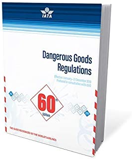 2019 60th Edition IATA Dangerous Goods Regulations - Perfect Bound - (English)