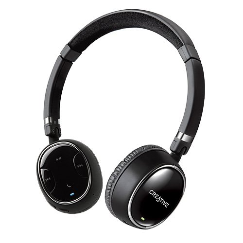 c91acff74f1 Amazon.com: Creative WP-350 Wireless Bluetooth Headphones with Invisible  Mic: Home Audio & Theater