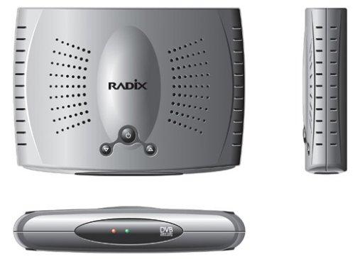 Radix DT 2000 TM DVB-T Receiver Silber