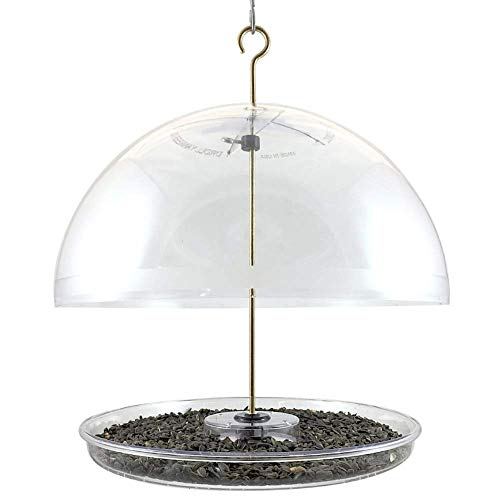 Droll Yankees 344318 DCF Dorothys Cardinal Domed Bird Feeder, 15-Inch, 15 Inches