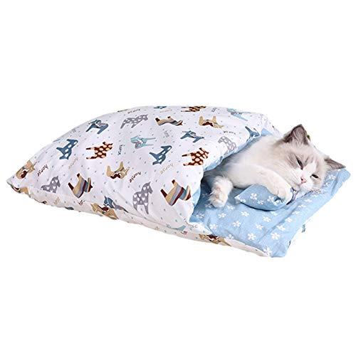 Househome - Saco de dormir para mascotas para gatos, gatitos y perros