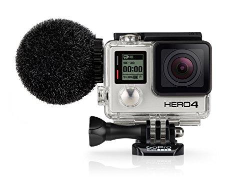 Sennheiser MKE 2 Elements Microfono per GoPro Hero 4, Nero