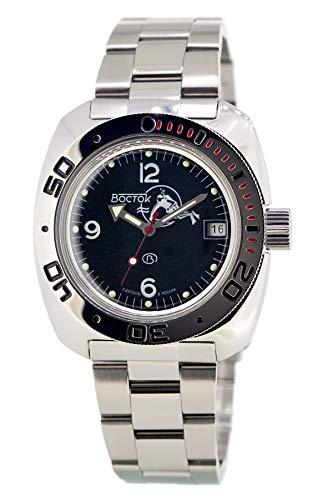 Vostok / Wostok Amphibian 2416 710634 Russisches Militär Mechanische Uhr