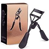 MinvoBeauty Wimpernzange Professionell Wimpernzange 3D Erweiterung Schmerzloses Design (Black)