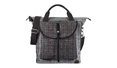 Timberland, Damen Tote-Tasche Black Tweed 13.4 by 14.6 by 4 inches