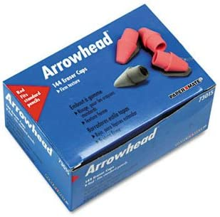 Paper Mate Arrowhead Eraser Caps ERASER CAP of1 NEW before selling ☆ PENCIL Indefinitely RED Pack