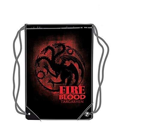 LAST LEVEL  Saco mochila bolsa Juego de Tronos Targaryen Adultos unisex  Multicolor