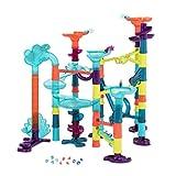 B. toys by Battat – Marble-Palooza – 62-tlg. Murmelbahn mit Lichter und Tönen – BPA-Freier Mint-Kugelbahn Spielzeug für Kinder ab 3 Jahren