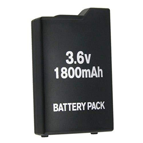 ZJBKX Batería Recargable de 3.6V 1800mAh, Reemplazo de batería para PSP-110 PSP-1001 PSP-1000 1pcs