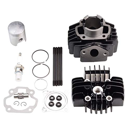 GOOFIT Kit Cilindro, Moto 40mm Pistones y Arandelas y Juntas
